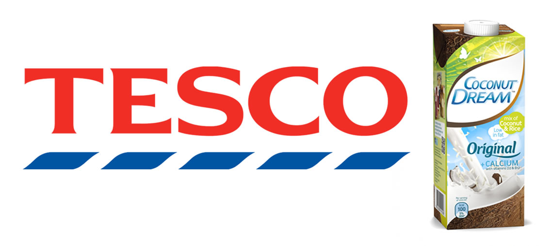 Coconut Dream now available in Tescos!