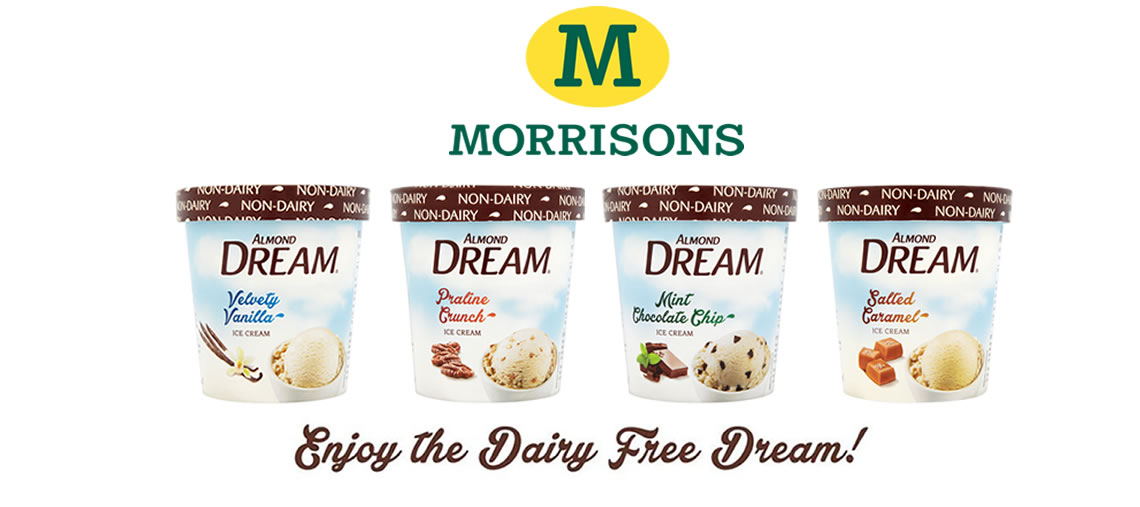 Dream Ice-Cream now available in Morrisons!