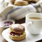 Green tea scones