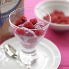 Almond berry ice