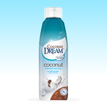 Coconut Dream Fresh with calcium, vitamins D and B12